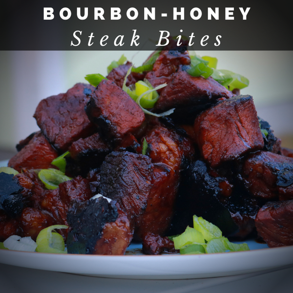 Bourbon Honey Steak Bites