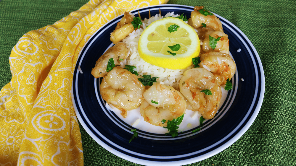 Garlic Honey Shrimp