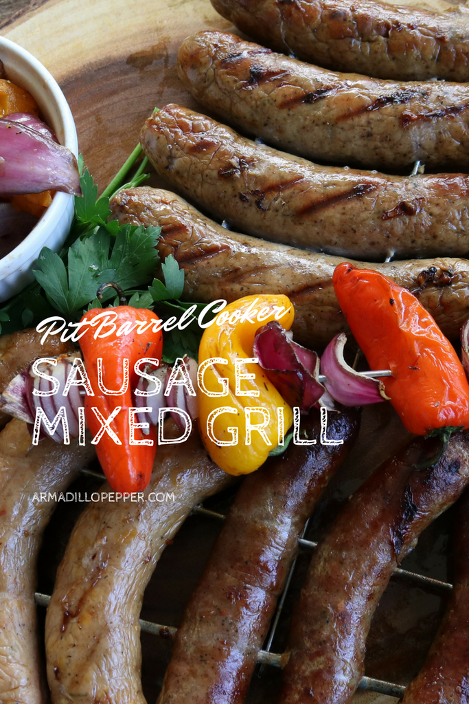 Grilled Sausage Mix with Onion & Peppers