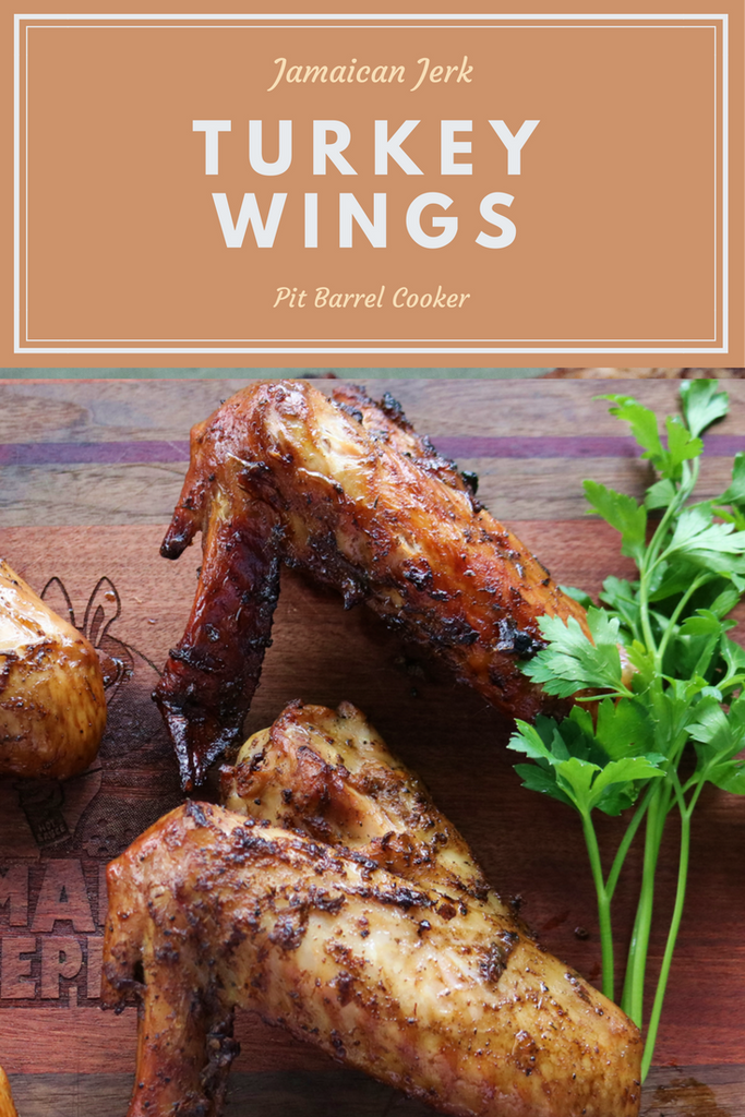 Jamaican Jerk Turkey Wings