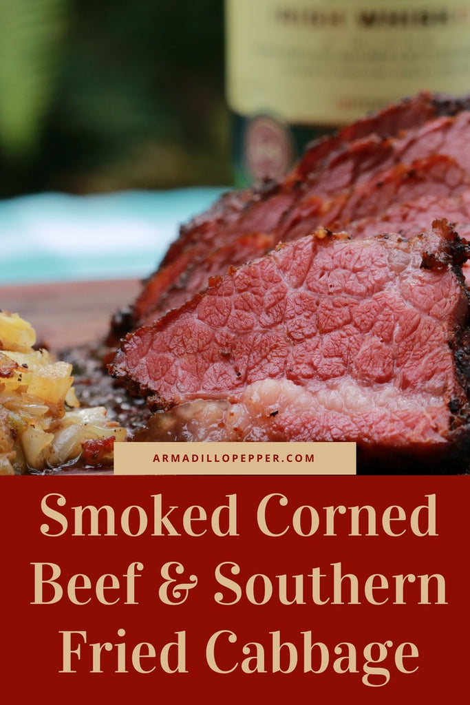 Smoked Corned Beef & Southern Fried Cabbage