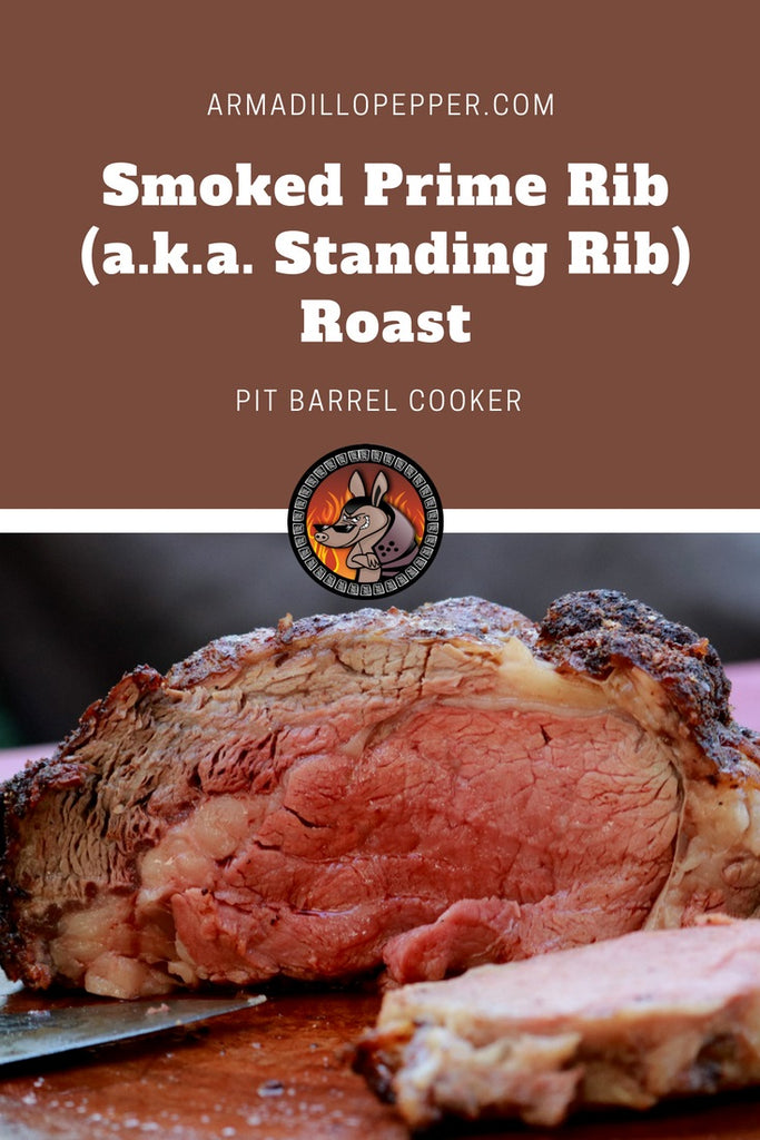 Smoked Prime Rib Roast in the Pit Barrel Cooker