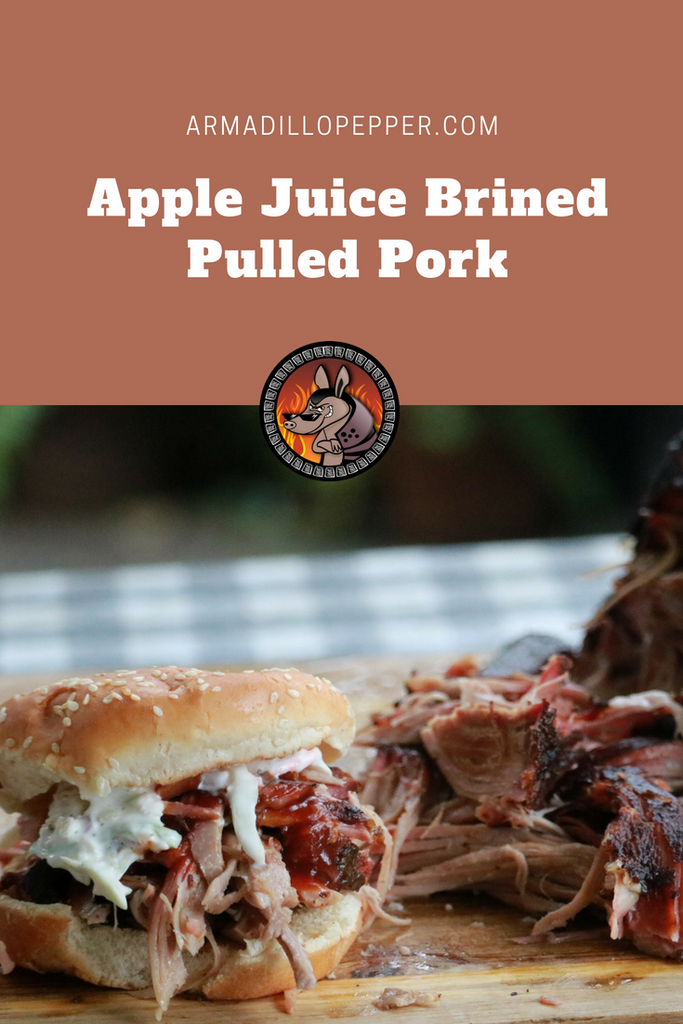 Apple-Juice Brined Pulled Pork