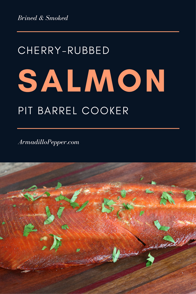 Cherry-Rubbed Smoked Salmon