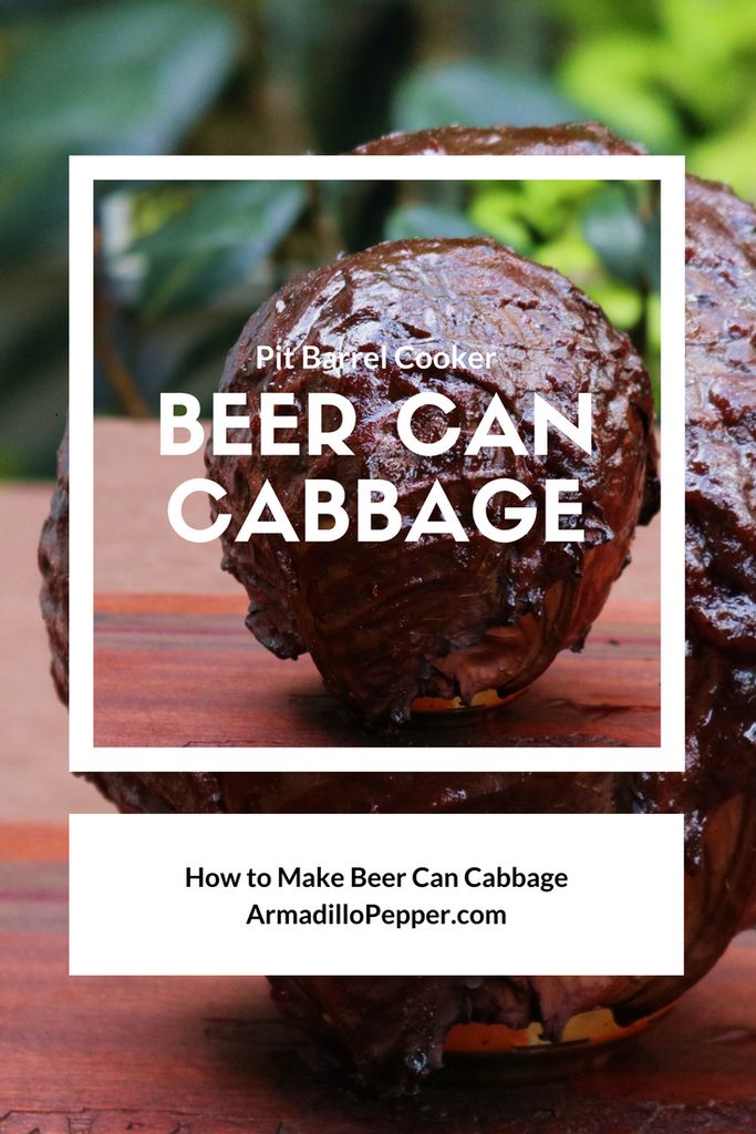 Beer Can Cabbage