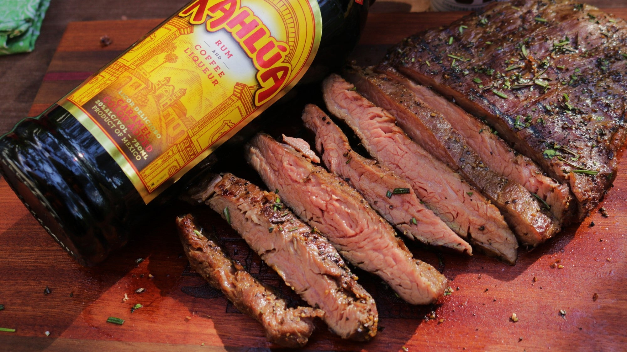 Kahlua Marinated Flank Steak Recipe