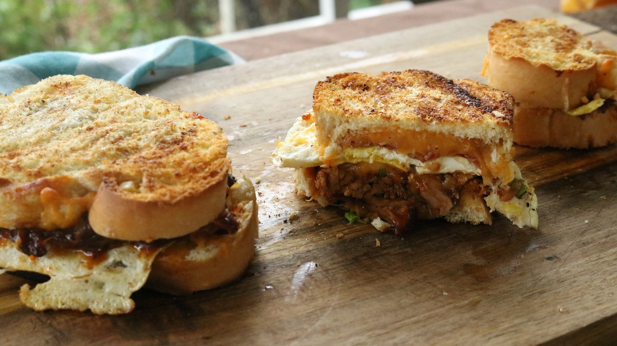 Pulled Pork Grilled Cheese Sandwich Recipe