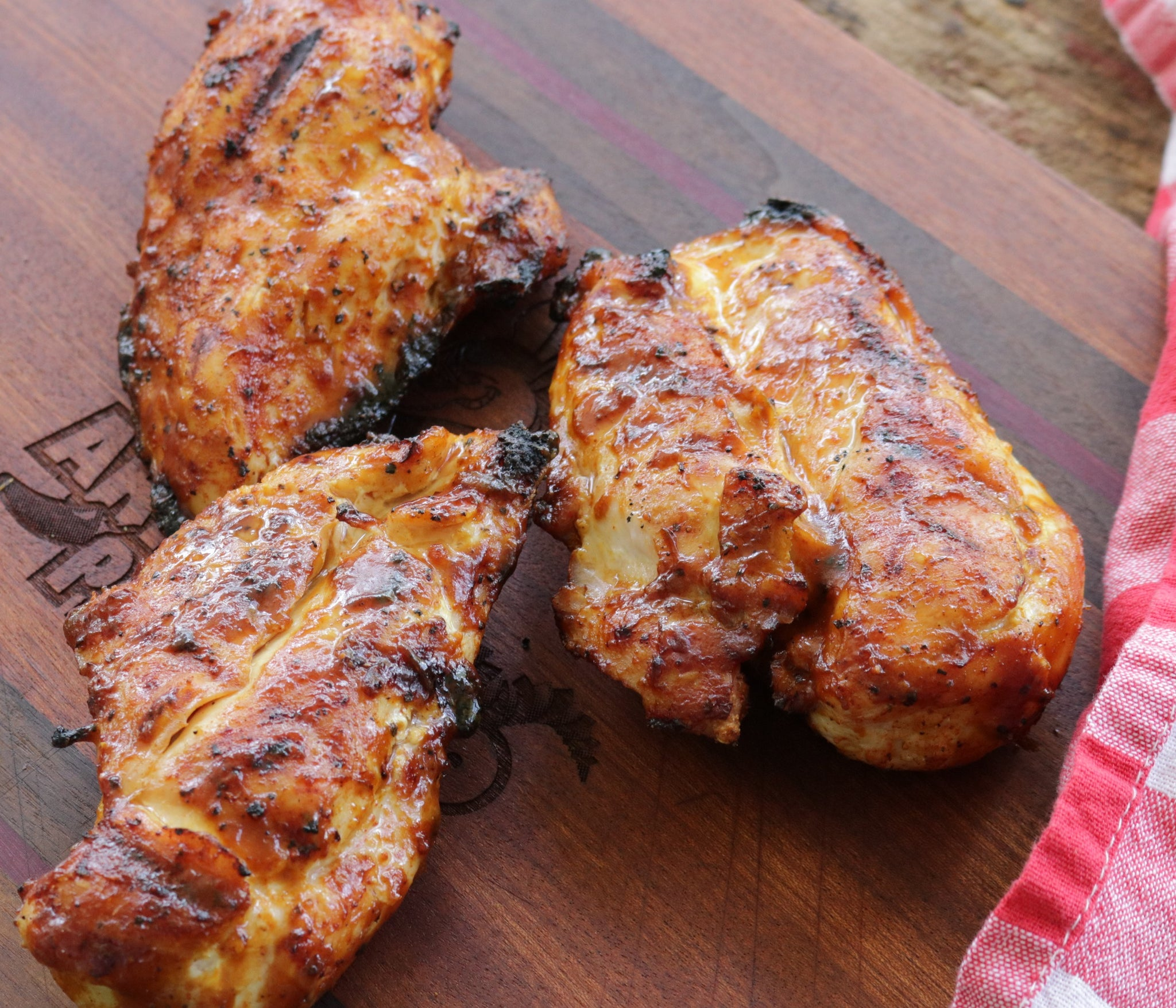 Grilled Sriracha Mustard Chicken