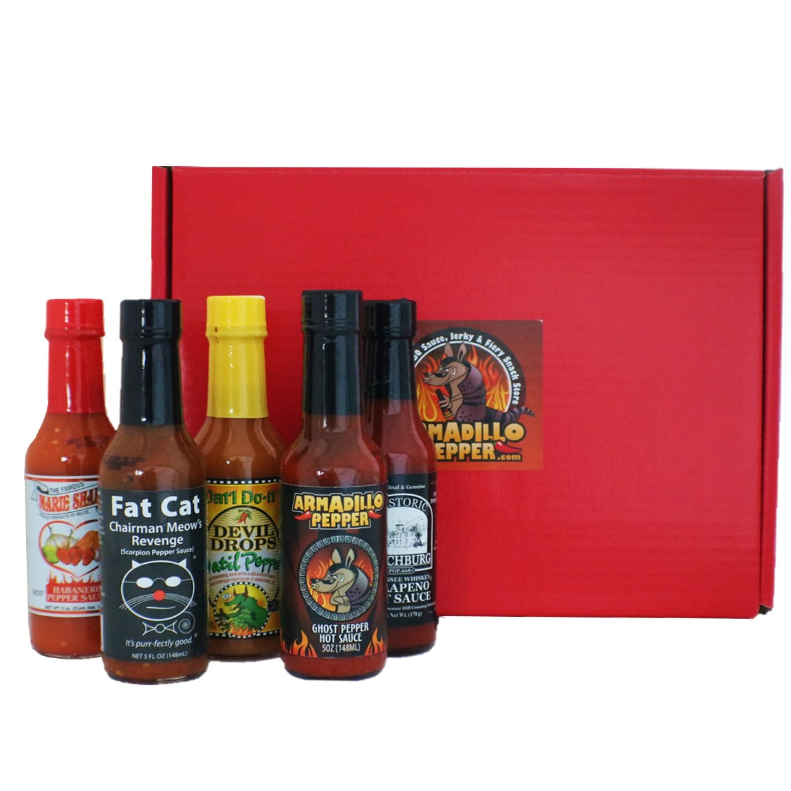 Extreme Heat Ammo Can Hot Sauce Gift