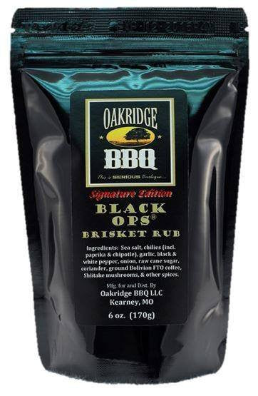 OAKRIDGE BBQ SIGNATURE EDITION BLACK OPS BRISKET RUB