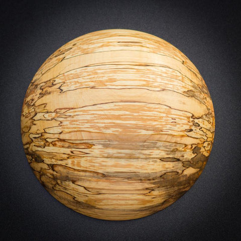 Spalted red alder from old growth Alaskan wood
