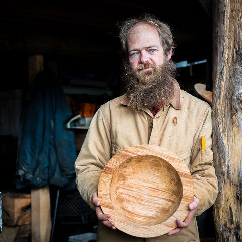 Zach LaPerriere - Wood Artist from Sitka, Alaska