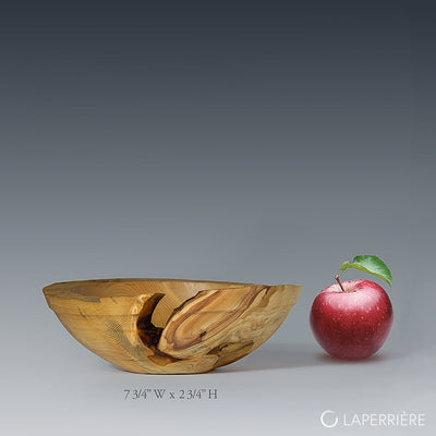 Textured Live Edge Branch Bowl