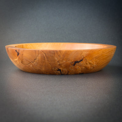 Uniquely Figured & Spalted Red Alder Bowl