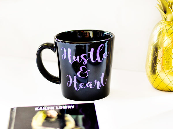 Hustle & Heart Coffee Mug