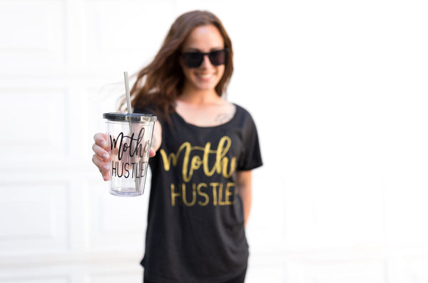 Mother Hustler Acrylic Tumbler