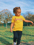 Saucy Kids — Sunflower Baby/Toddler T-Shirt