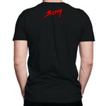 *SOLD OUT* London Red / Black Saucy T-Shirt