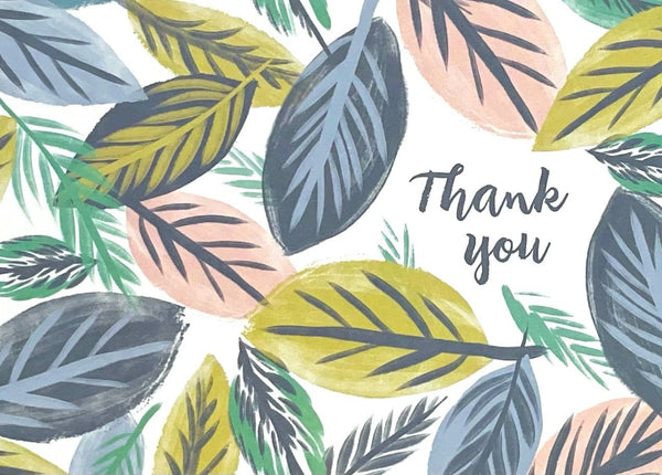 Thank You- Leaves