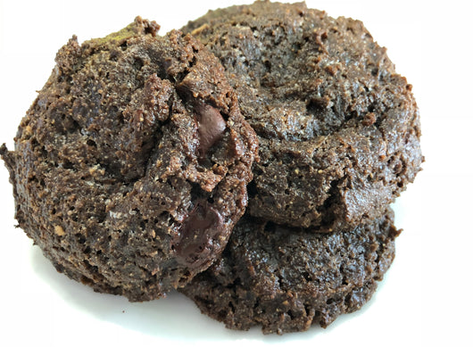 Guilt Free Double Chocolate Cookie