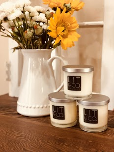 Lit & Co Candles!