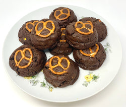 Loaded Chocolate Pretzel Cookie