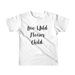 Live Wild Flower Child Tee - Brown Bear Co.