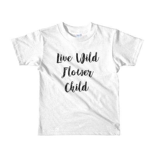 Live Wild Flower Child - Brown Bear Co.
