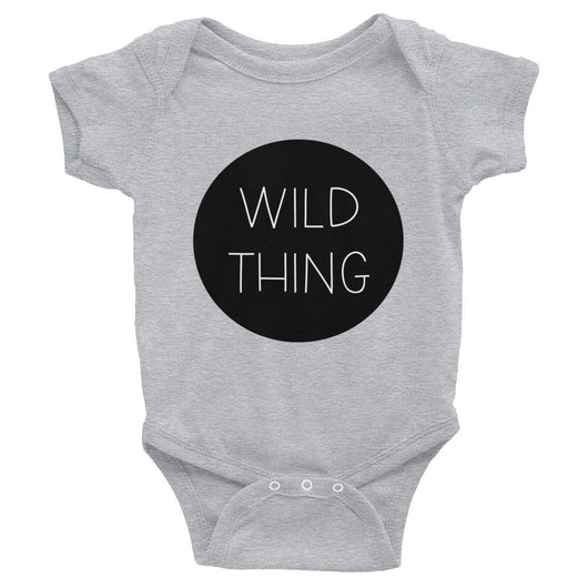 Wild Thing Bodysuit - Brown Bear Co.