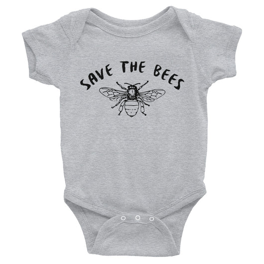 Save the Bees Bodysuit - Brown Bear Co.