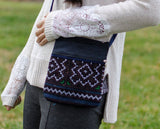 Flower Pattern Crossbody Bag - Crossbody Bags