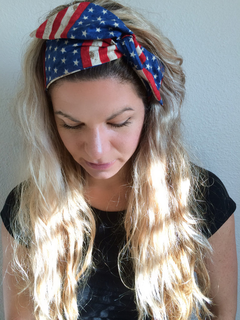 Sweet America ~ Headband - Tossy by EM