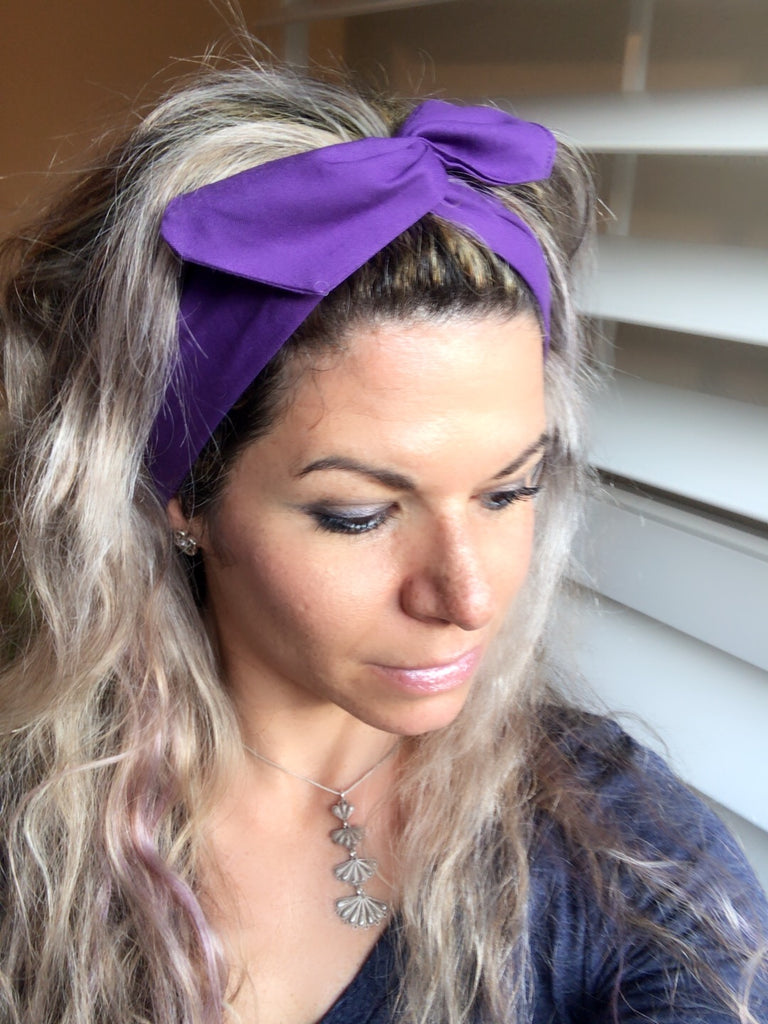 Crown Chakra ~ Sahasrara Headband - Tossy by EM