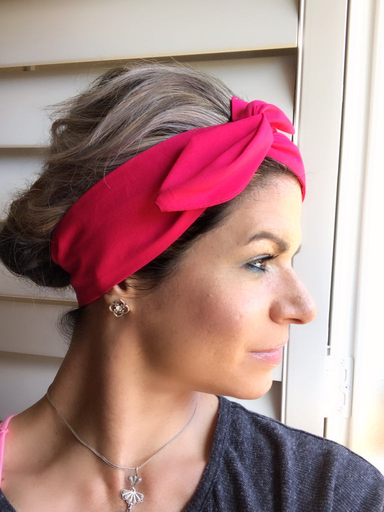 The Fuchsia Flower ~ Headband
