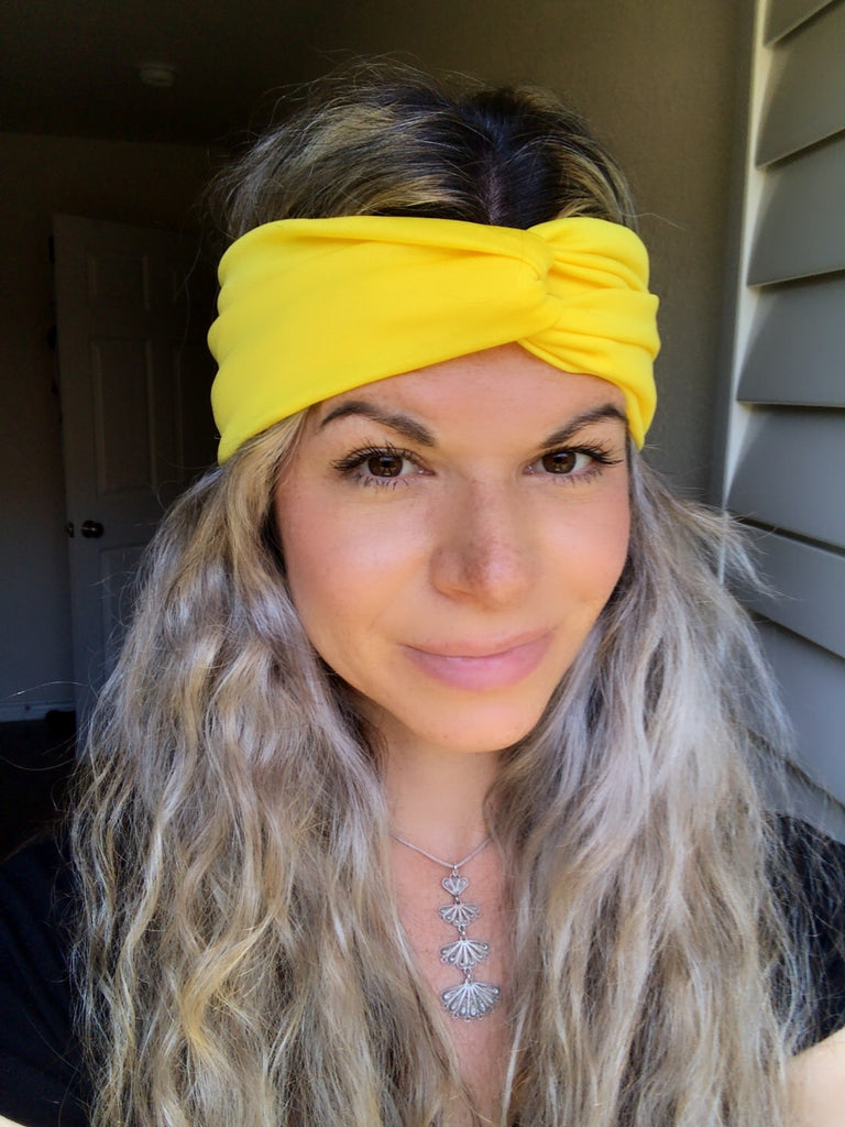 Yellow Star Active ~ Headband