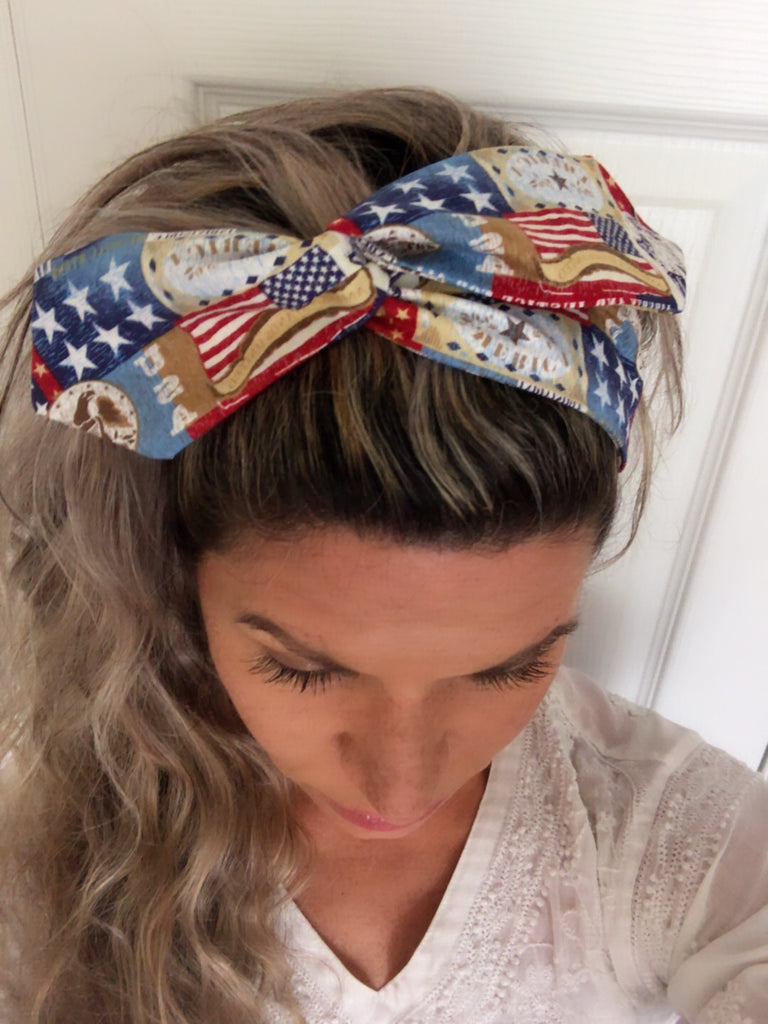 Liberty America ~ Headband - Tossy by EM