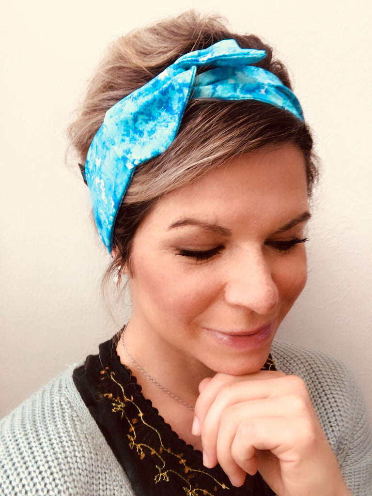 Blue Victory ~ Headband - Tossy by EM