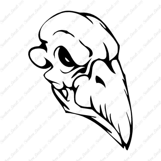 Bird Monster Skull