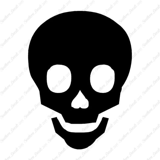 Skull Happy Cute