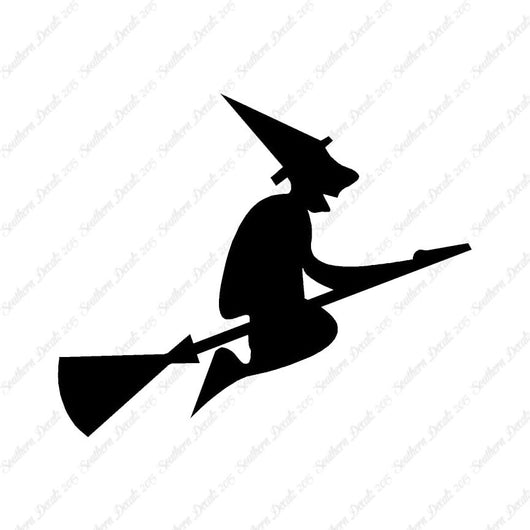 Witch Broomstick Art