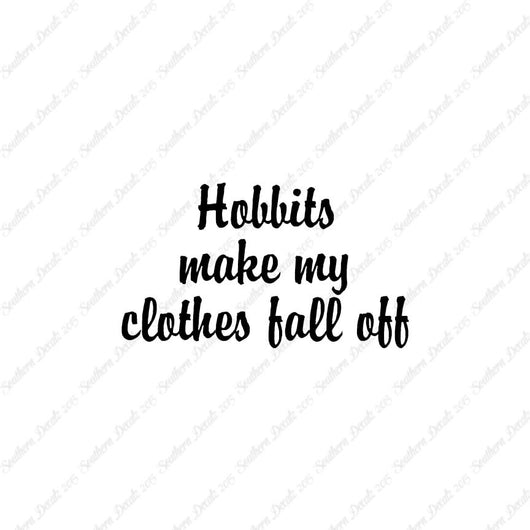 Hobbits Make Clothes Fall Off