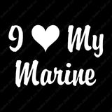 I Love My Marine Heart