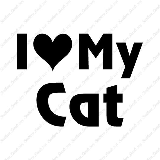 I Love My Cat Heart