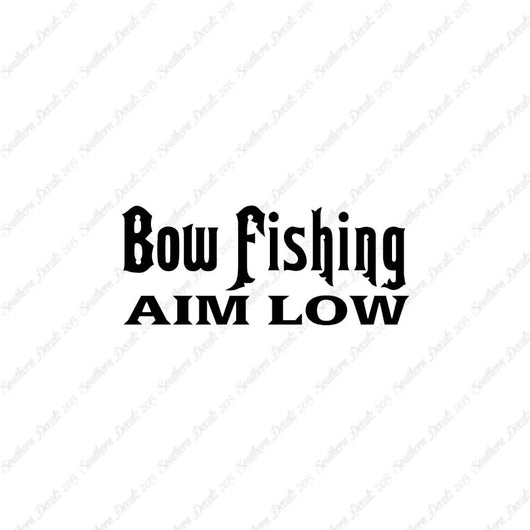 Bow Fishing Aim Low
