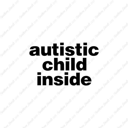 Autistic Child Inside