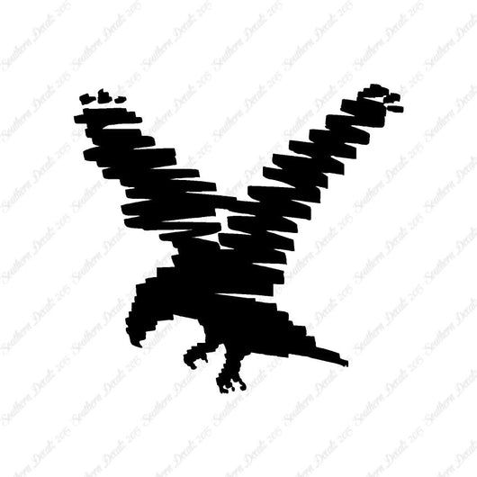 Bird Eagle Marker Art