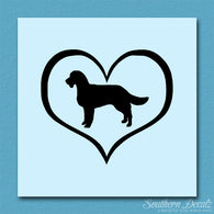 American Water Spaniel Dog Heart Love