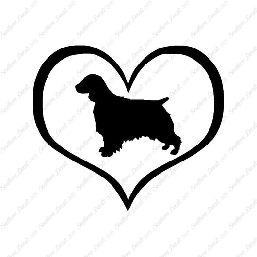 Welsh Springer Spaniel Dog Heart Love