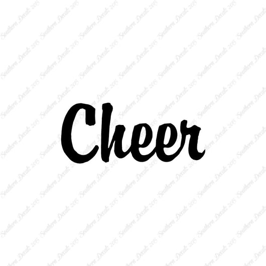 Cheer Text