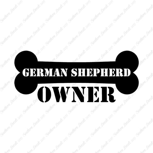 German Shepherd Dog Owner Bone
